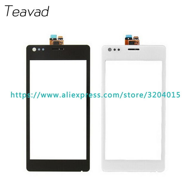 """10Pcs/lot High Quality 4.0"""" For Sony Xperia M C1904 C1905 C2004 C2005 Touch Screen Digitizer Sensor Outer Glass Lens Panel"""