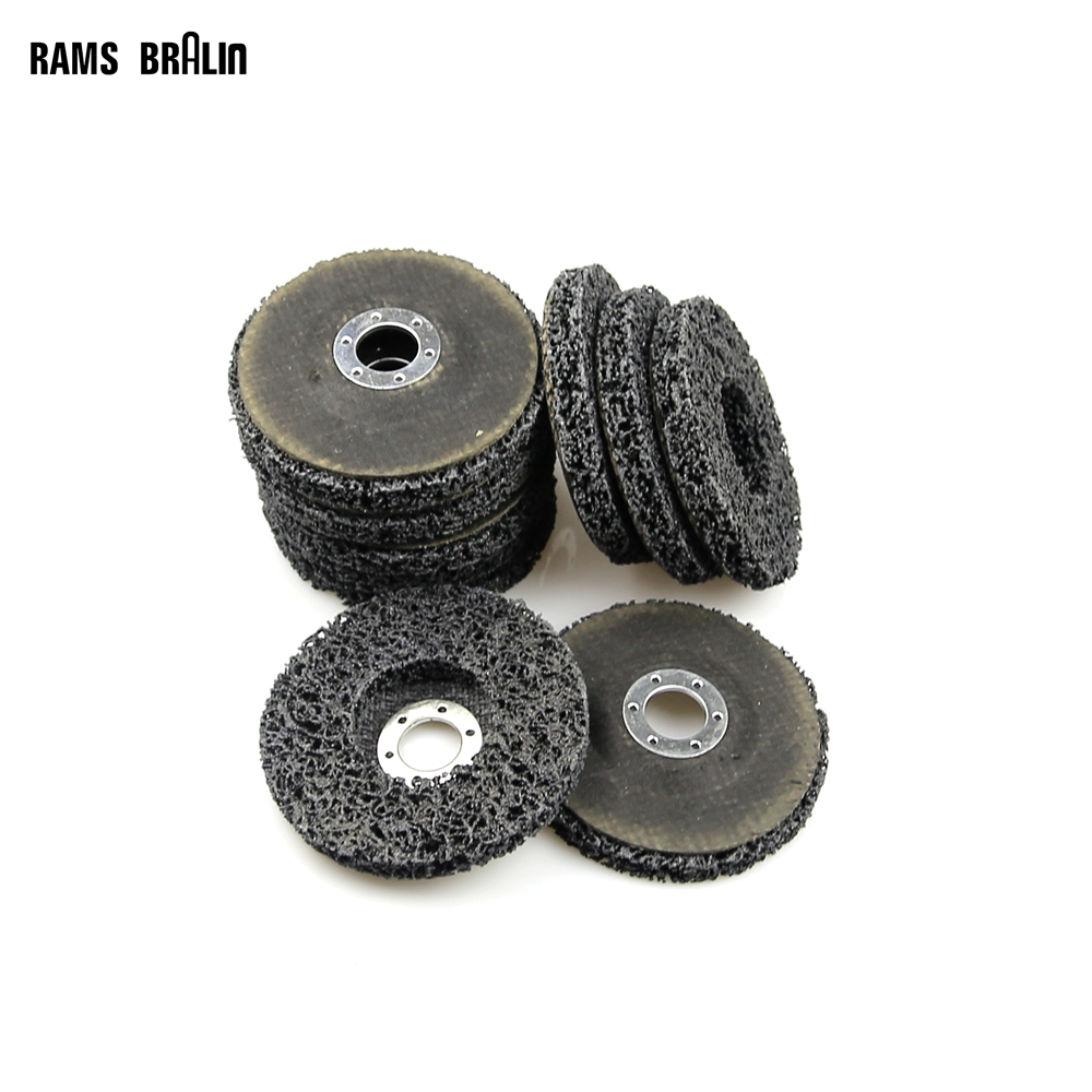 Disc Polishing Wheel Paint Rust Removal Clean Remove For Angle Grinder 115*22mm