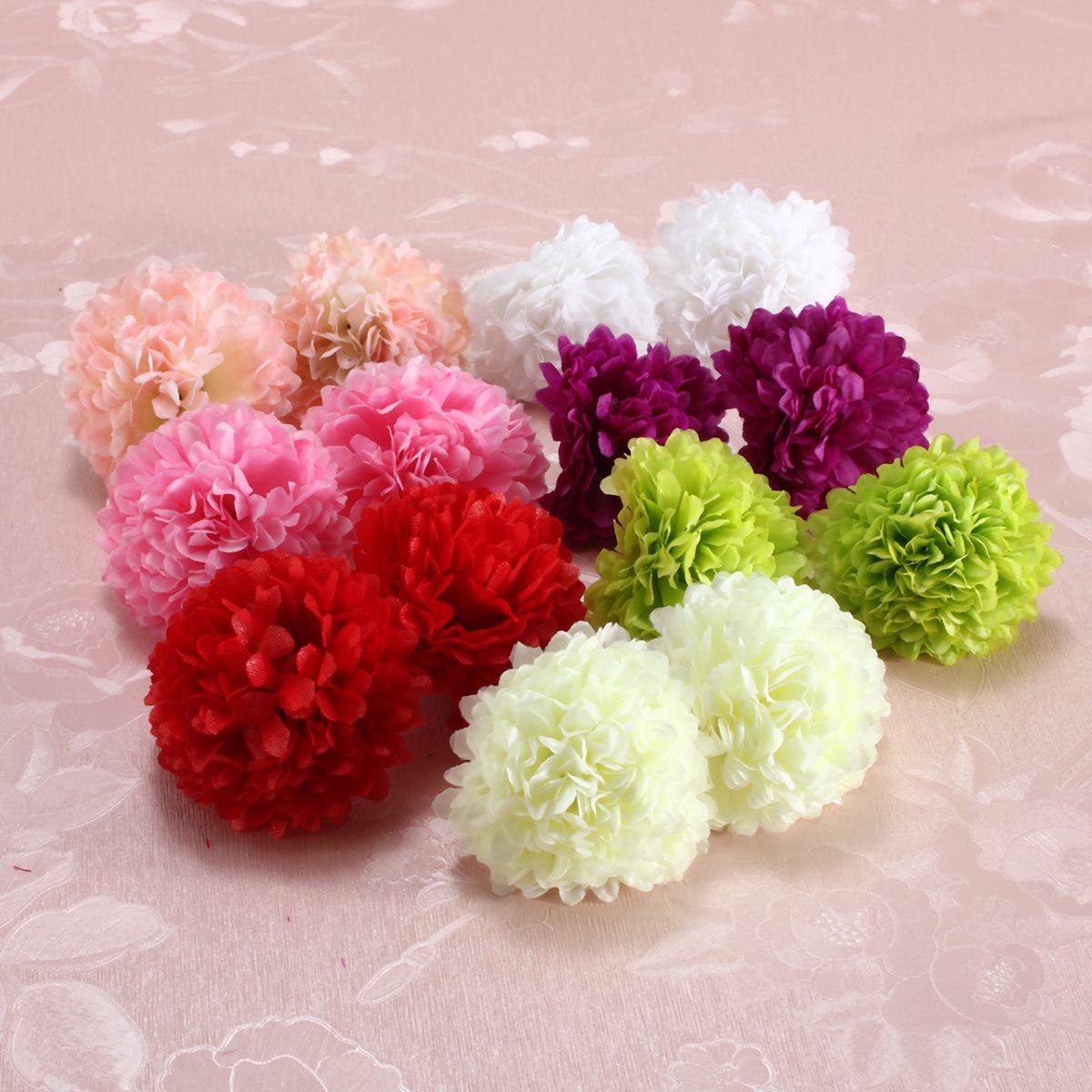 10 Pcs Artificial Small Clove Carnation Flowers Artificial Flowers