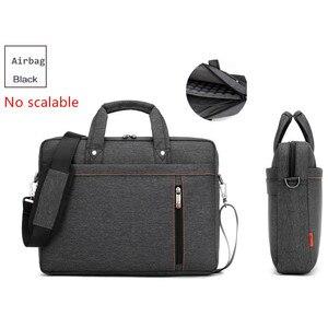 Image 4 - Bolsa para laptop 17.3 17 15 14 13 polegadas, à prova de choque, airbag, impermeável, masculina e feminina, luxo, grossa, para notebook novo 2018
