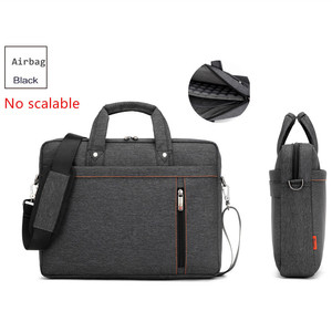 Image 4 - Laptop bag 17.3 17 15 14 13 inch Shockproof airbag waterproof computer bag men and women luxury thick Notebook bag 2018 new