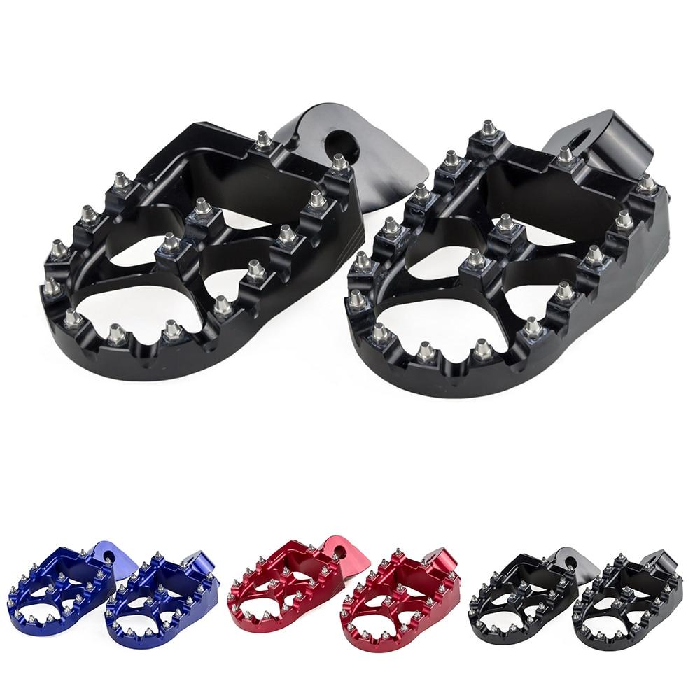 CNC Foot Peg Rest Footrest For Yamaha YZ65 YZ85 YZ125 YZ250 YZ250F YZ450F YZ450FX WR250F WR450F YZ125X YZ250FX