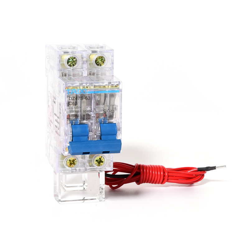 MCB With Shunt Trip DZ47S 63 Miniature Circuit Breaker With No voltage Release in Circuit Breakers from Home Improvement