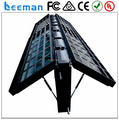 Leeman outdoor double sided two face p10 outdoor led advertising display sign board, outdoor double sided led sign