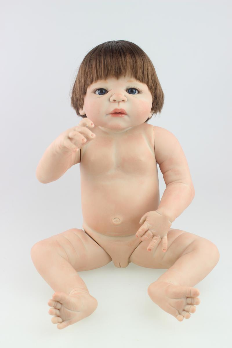 nude babies Aliexpress.com : Buy Silicone reborn baby dolls nude lifelike baby doll toy  for child girl babies birthday gift early education toy bathe shower toy  from ...
