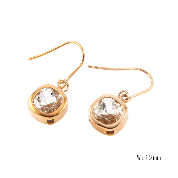 CH-81 The latest luxurious carved Earrings love signature Earrings Valentine's Day best jewelry gift