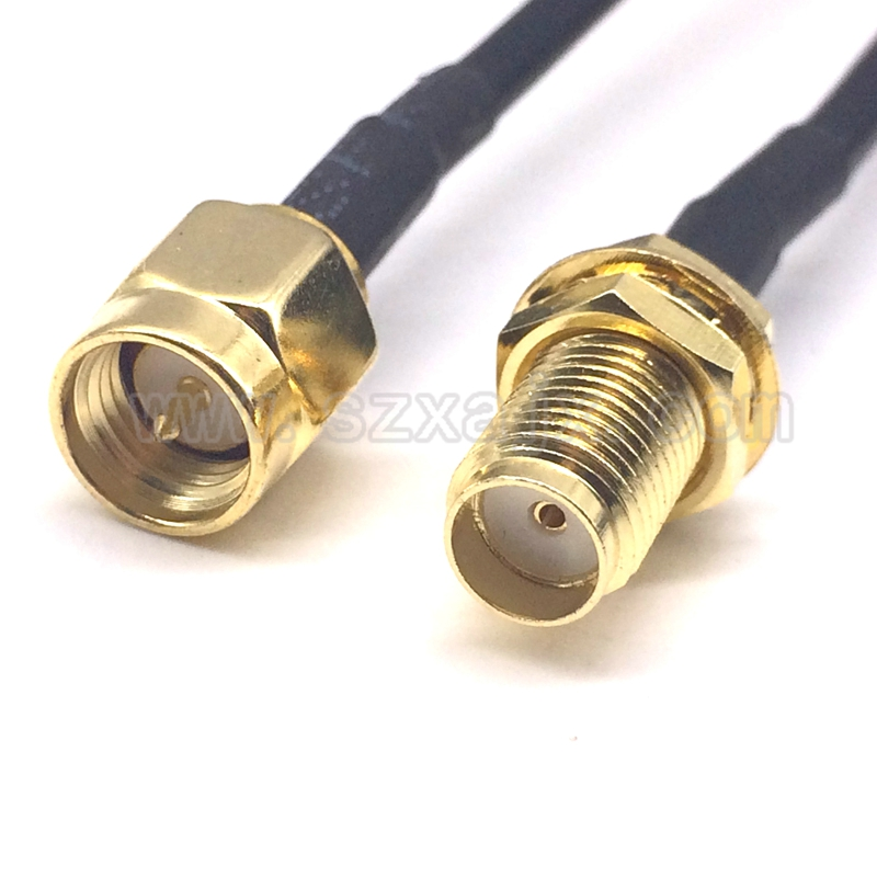 JX antenna for 3G 4G WIFI antenna cable assemblies 2M 3M 5M SMA male to SMA female Extension cord for SMA connector antenna(China)