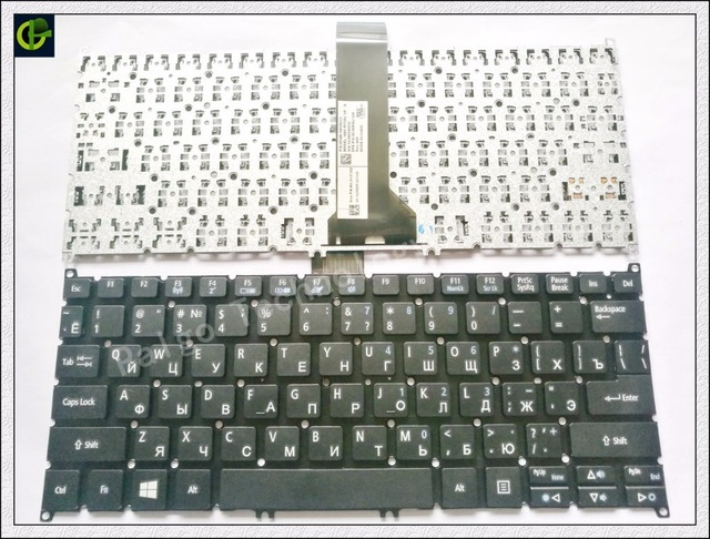 Russian Keyboard for Acer Aspire V5-111P ES1-111 es1-111M ES1-311 ES1-331 E3-111-C ES1-111M V13 E3-122 black RU keyboard