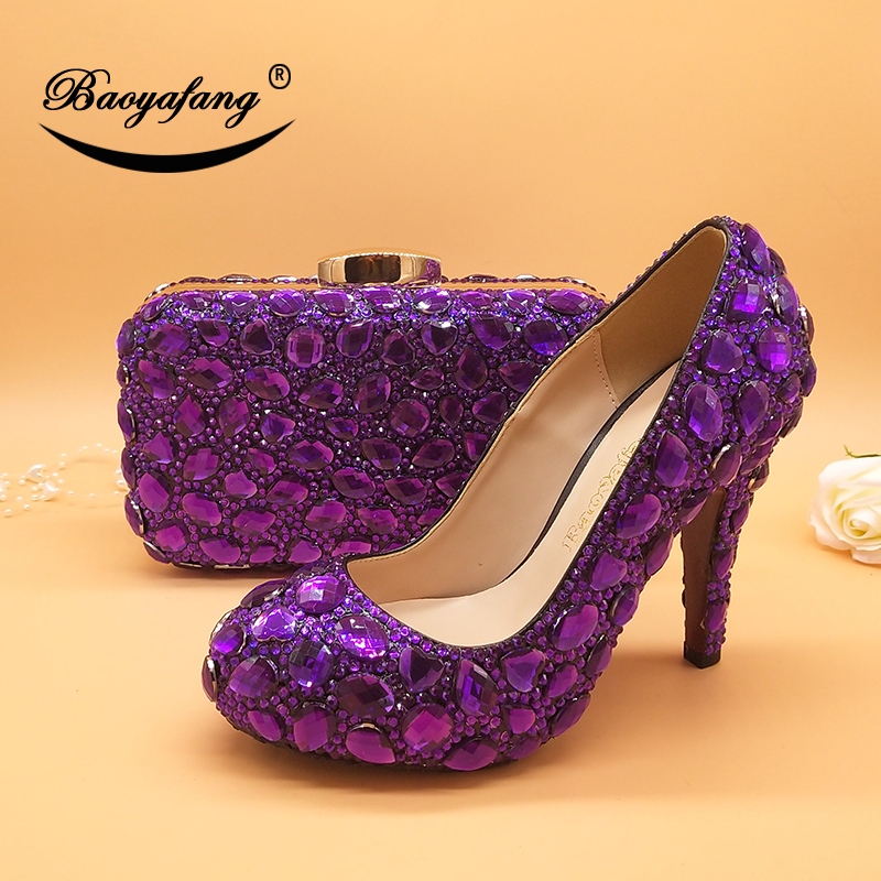 Stkehidba New Fashion Dream Butterfly Buckle Women Pumps Sexy Round Toe Wedding Party Nightclub High Heels
