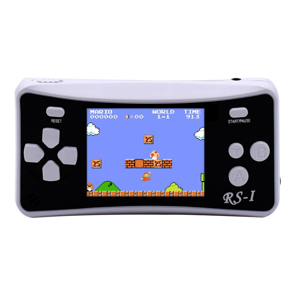XINGDOZ Portable Handheld Game Video consoles mini video game console Built-in 152 Classic Games AV out to connect TV N20