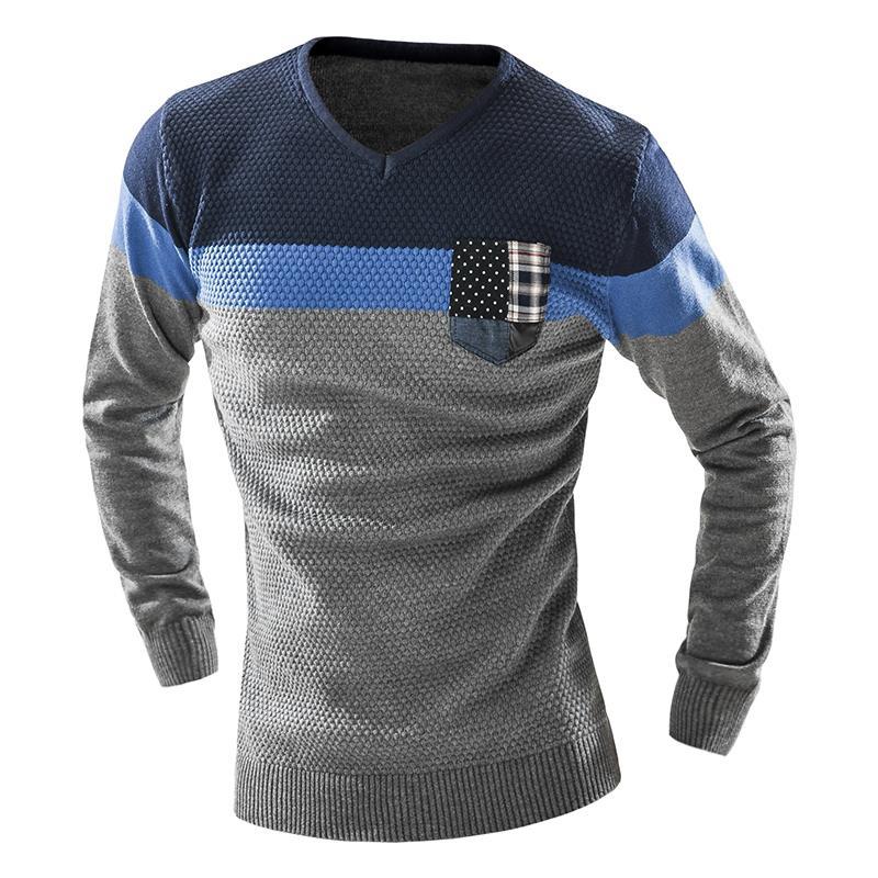 Мужской свитер 2017 Homme v/xxl KF