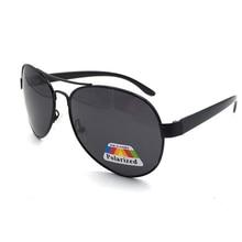แฟชั่น Polarized Polarized แว่นตากันแดดโลหะอินเทรนด์ Ultralight Double Bridge PC ขา Shades ผู้หญิงผู้ชาย UV400 แว่นตา
