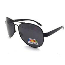 Thời trang Phi Công Phân Cực Sungalsses Hợp Thời Trang Kim Loại Siêu Nhẹ Cầu Đôi PC Chân Sắc Thái Nữ Nam UV400 Kính Mắt