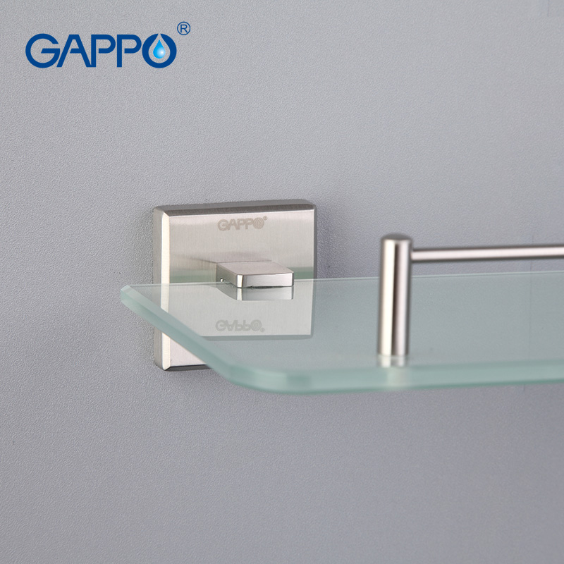 Aliexpress.com : Buy GAPPO Top Quality Wall Mounted Bathroom Shelves ...