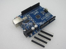 Free shipping 5set/lot UNO R3 UNO board with usb cable for Arduino(Compatible) NO USB CABLE