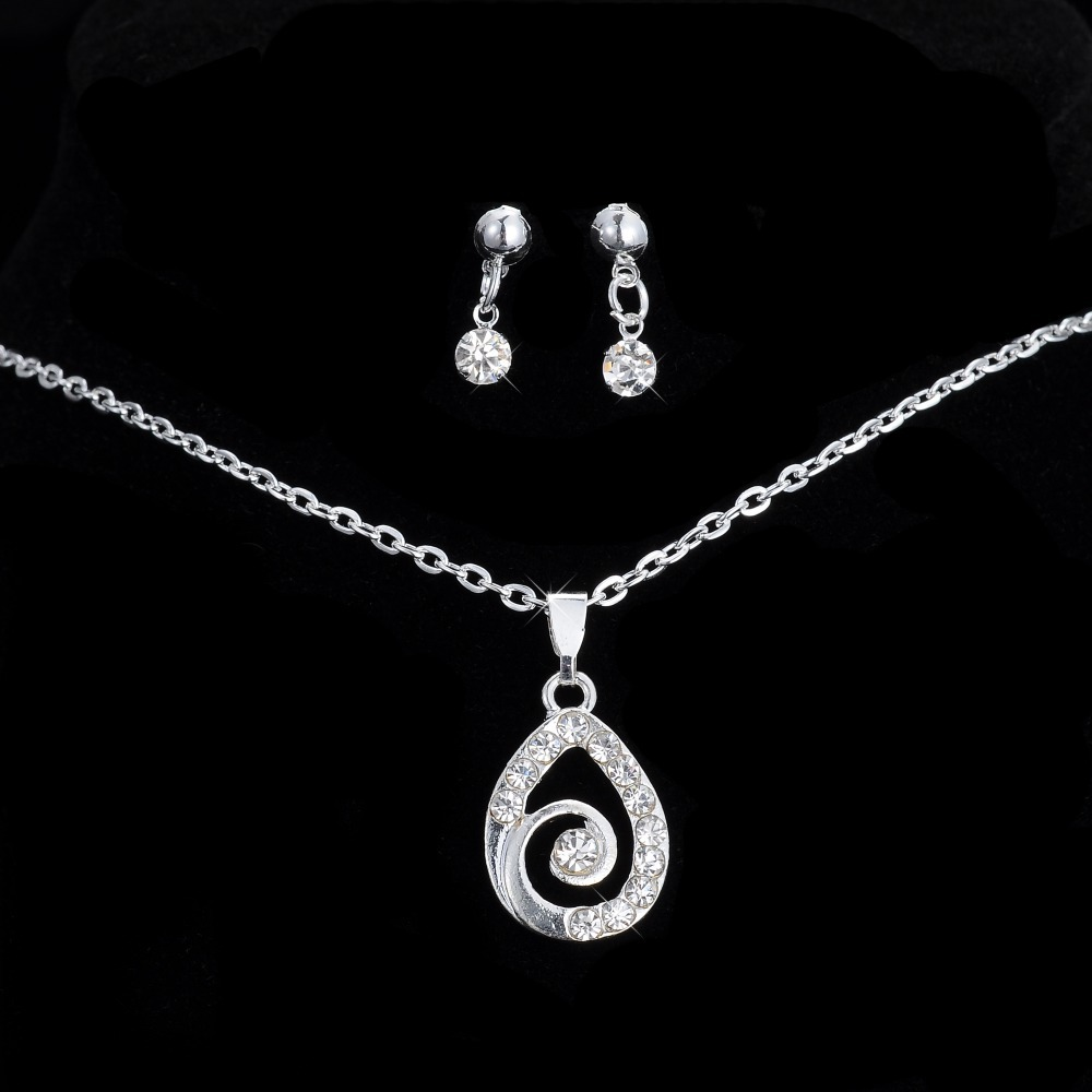 Jewelry Sets Water Drop...
