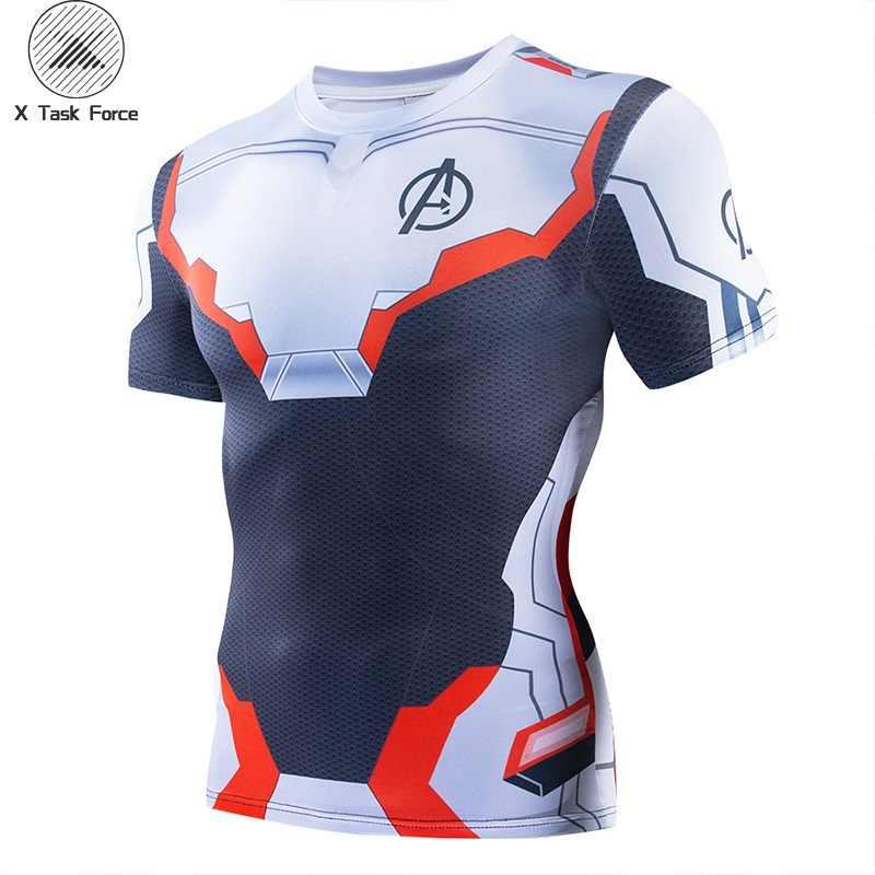 Новинка 2019, Мужская компрессионная футболка для фитнеса, Мужская футболка для косплея, Мужская футболка с 3D принтом, Топ Супермена