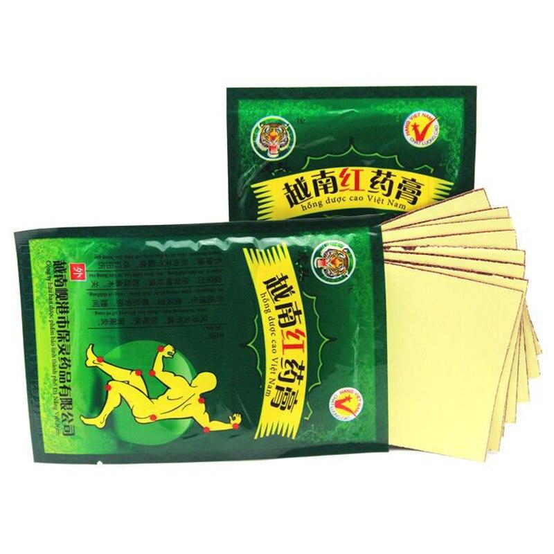 Sumifun 16 piezas parches de dolor de bálsamo de tigre rojo de - Cuidado de la salud - foto 2