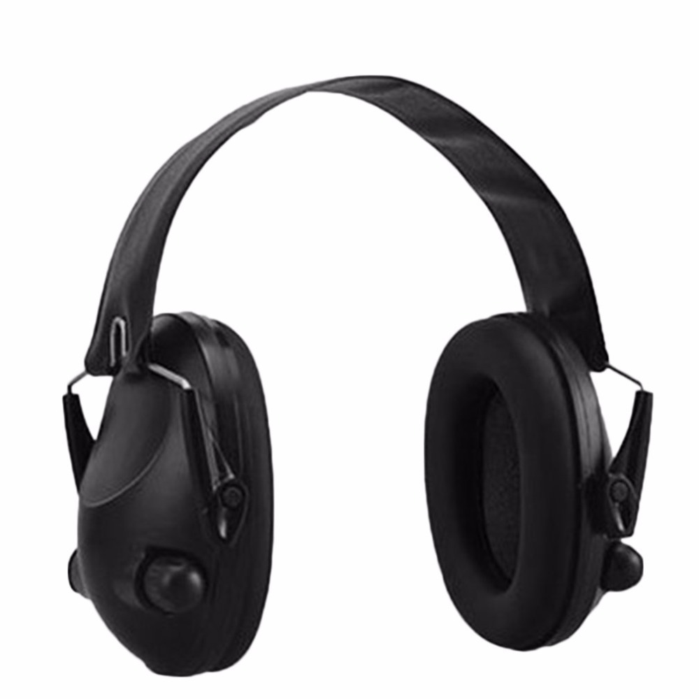 Noise Canceling Tactical Shooting Headset Anti Noise Sport Hunting Electronic Shooting Earmuff Headphone hearing protection|  - title=