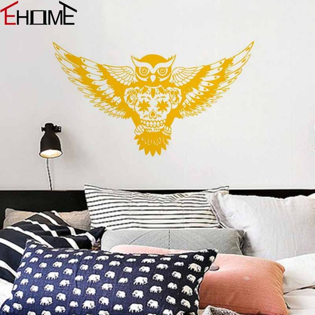 Aliexpress.com : Buy Flying Owl Wall Decals Vinyl For Glass ...