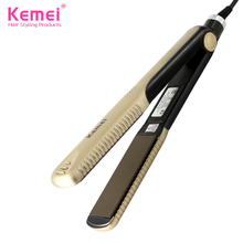 Kemei327 New hair straighteners Professional Hairstyling Portable Ceramic Hair Straightener Irons Styling Tools Free Shipping
