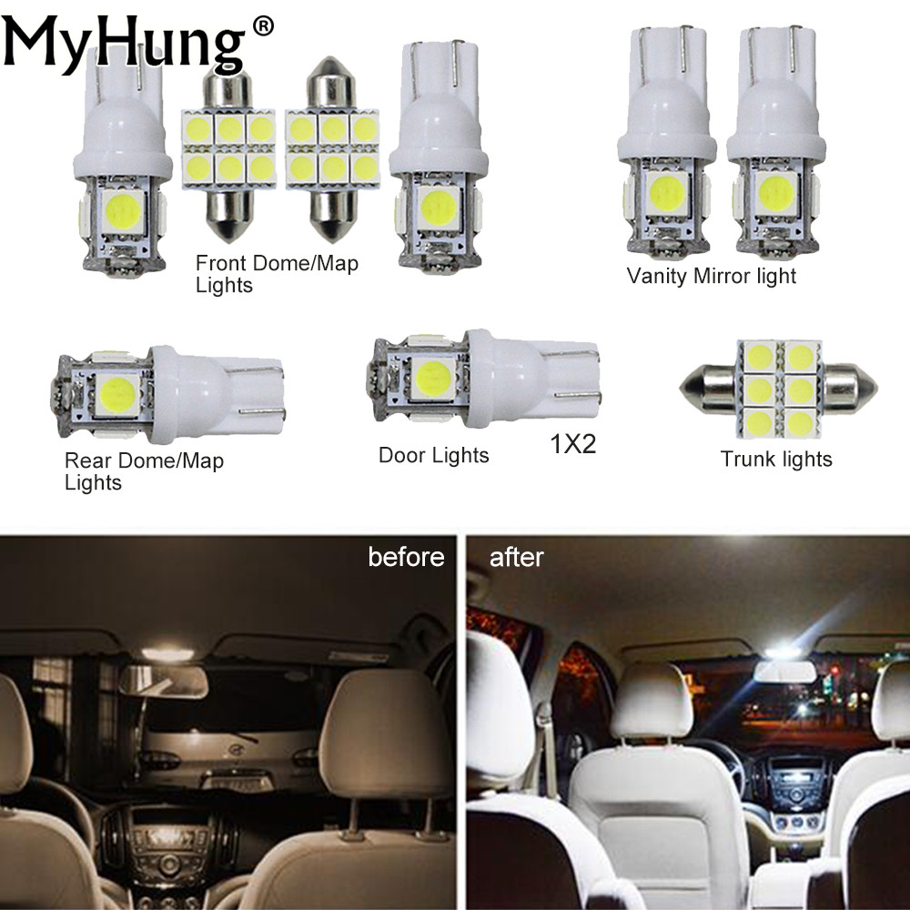 2006 Lexus Lx Interior: For Lexus IS 2006 2012 Convenience Bulbs Car Led Interior