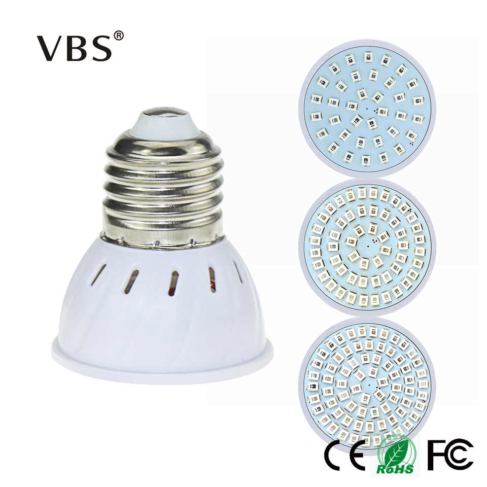 Growing Lamps Grow Light 220V E27 GU10 MR16 3W Full Spectrum Led UV Lamp For Plants 300lm 400lm 500lm Bulb Lamp