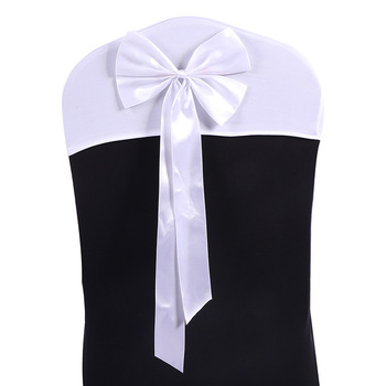 chair bow wedding/bows for chairs/decoration of chairs for a wedding 50 pcs