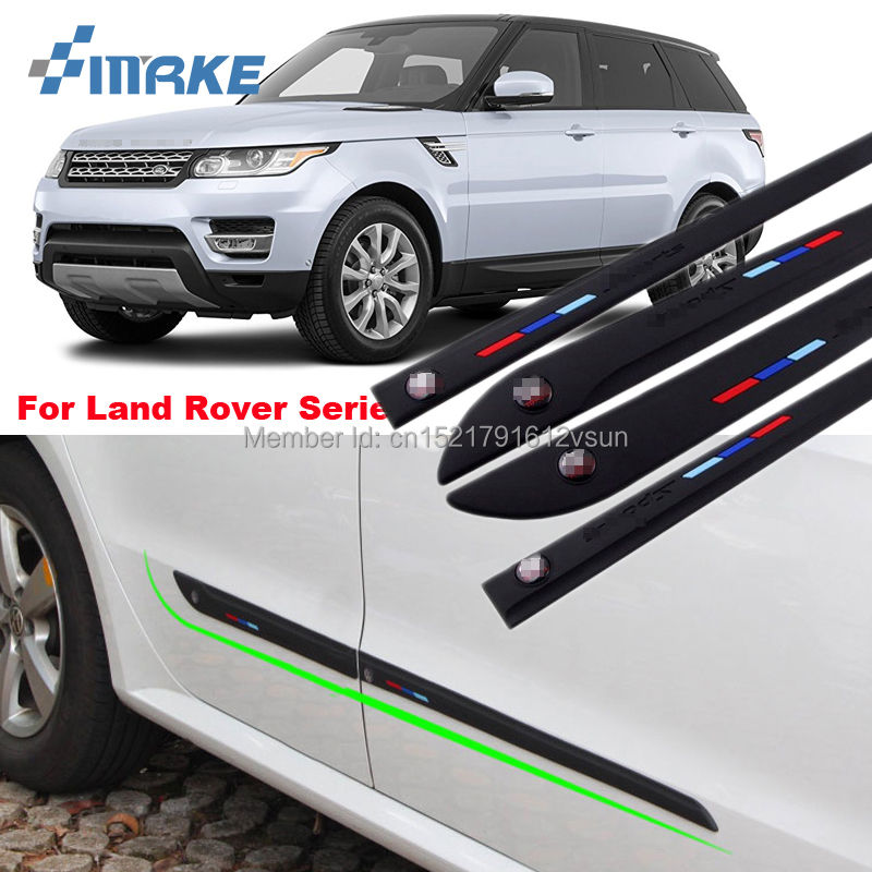 smRKE High-quality Rubber Car Body Anti Scratch Protector Bumper For Land Rover Range Rover Freelander Discovery Series