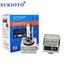 SUKIOTO 55W Xenon D1S HID Xenon Bulb 12V 35W D3S Car Headlamp Bulb 4300K 5000K 6000K 8000K D1S D3S Car Auto Xenon Headlight Bulb
