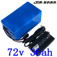 72V lithium Battery Pack 72V 35AH Electric Bike Battery 72V 2000W 3000W Electric Scooter Battery With 50A BMS and 84V 5A Charger