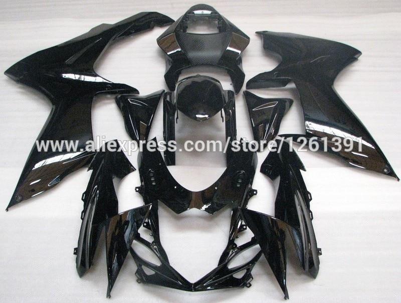 Инъекций все черного цвета для Suzuki GSXR600 2011 2012 GSXR750 2011 2012 GSX R600 GSXR750 11 12 K11 комплекты обтекателей, 11, 12 лет