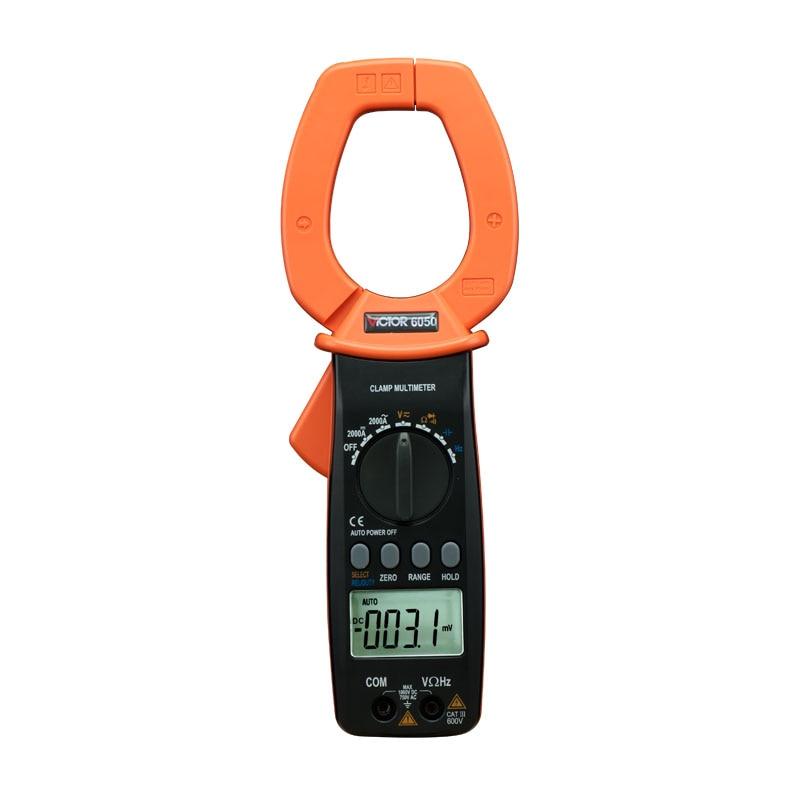 DM6050 digital multimeter VICTOR 6050 clamp meter victor 6056d digital clamp meter