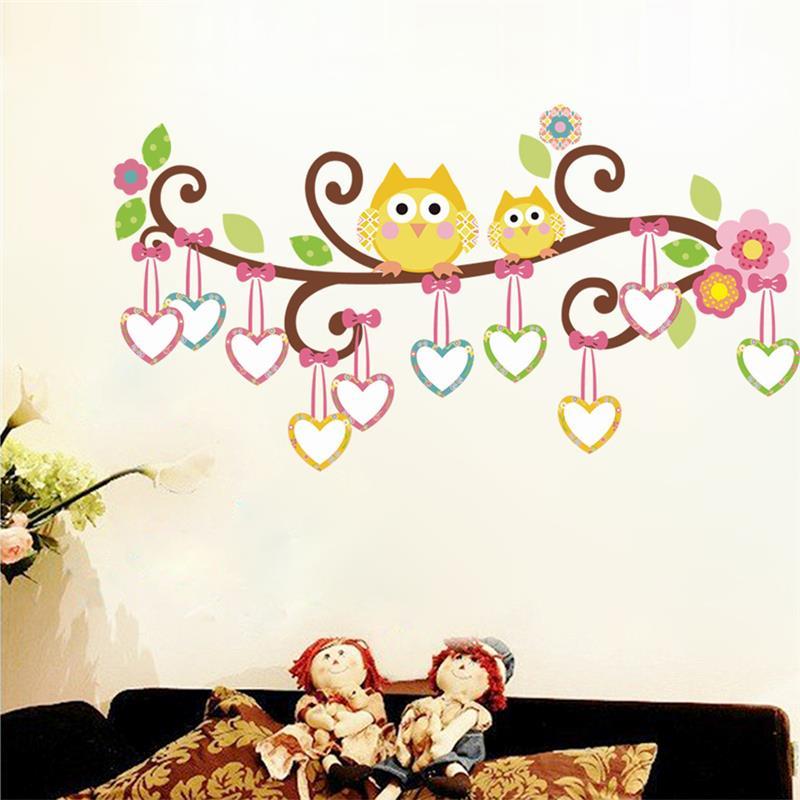 bhos pegatinas de pared decoracin de la habitacin nios nursery cartoon nios nias tatuajes de