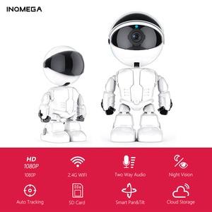 Image 1 - INQMEGA 1080P Cloud IP Camera Robot Intelligent Camera Wi fi Robot Camera Home Security Wireless CCTV Camera