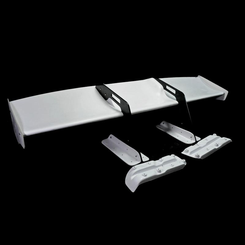 Car styling LB Style FRP Fiber Glass GT Wing Set 5pcs Fiberglass Rear Spoiler Kit Accessories Fit For Nissan R35 GTR CBA DBA