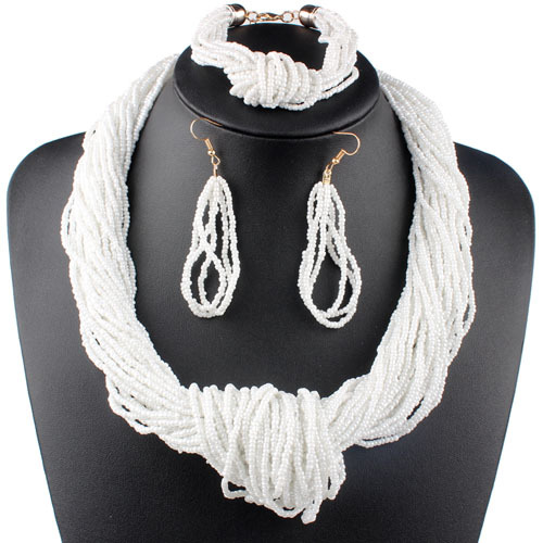 Claire Jin Small Beads Knot...