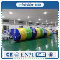 0.9mm PVC 5x2m Inflatable Jump Bag Water Catapult Blob Water Blob For Amusement