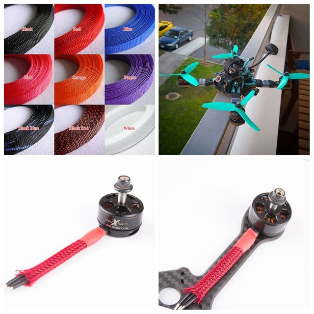 Drone Soft Bright Braided Cable