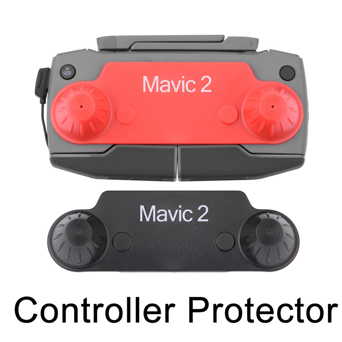 Thumb Stick Joystick Protector Cover For DJI Mavic 2 Pro Zoom Drone RC Remote Controller Mount Bracket Protective Accessory