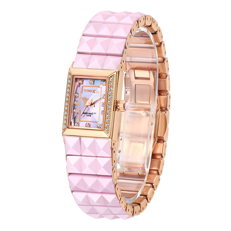 где купить Time100 Women's Ceramic Watches Quartz Watch Diamond Dial Ladies Casual Bracelet Watches For Women relogios feminino по лучшей цене