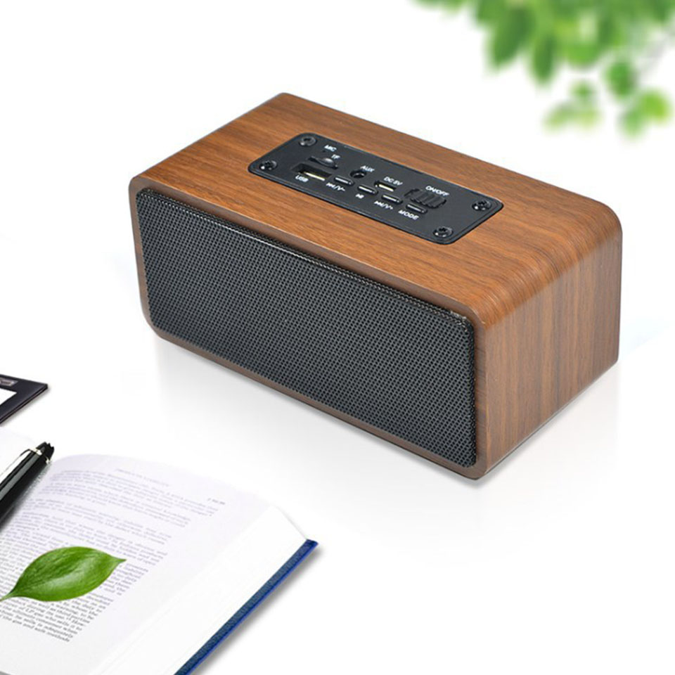Retro Wood Super Bass Wireless Mini Bluetooth Speaker Portable Subwoofer Bluetooth Sound System Stereo Music Surround Speaker adriatica часы adriatica 3129 1153q коллекция ladies