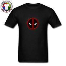 Deadpool Symbol Logo Youth T Shirt Black Spiderman Costume Marvel Legends Hero Tshirts Summer Tops Tees O-Neck 100% Cotton