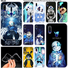 Coque Undertale Sans Hot Silicone Case for Xiaomi