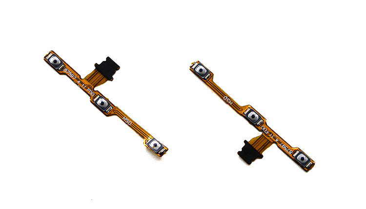 1PCS New 100% High Quality Power On/Off + Volume Up/Down Button Flex Cable For Huawei Honor 6A Phone
