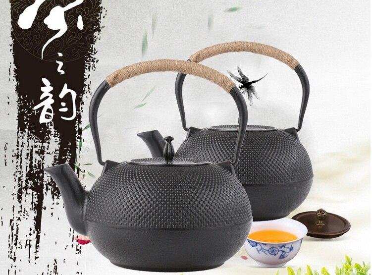 Fedex FREE SHIPPING 1800ML Chinese Tea pot Japanese Cast Iron Teapot tea infuser, Iron Bottle, Kettle, Tea Set tea strainer