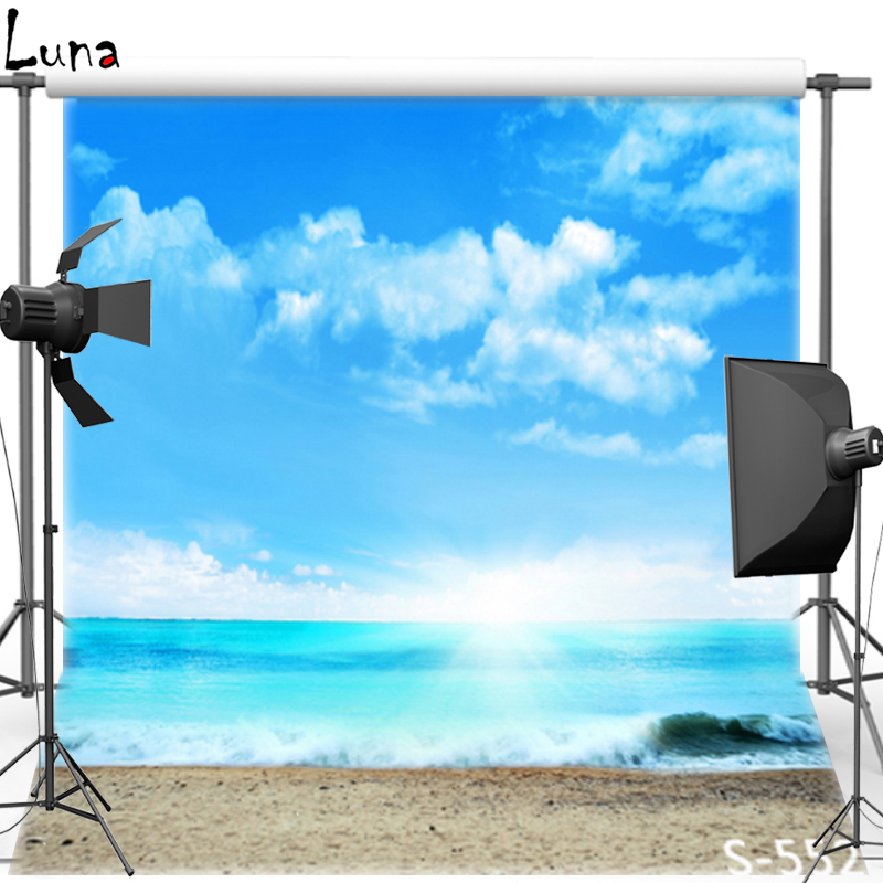 MEHOFOTO Blue Sky Vinyl Photography Background For Wedding Seaside New Fabric Flannel Background For Children Photo Studio 552 vinyl photography background backdrop for wedding concrete wall new fabric flannel background for children photo studio 774