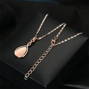 VKME новые серьги ожерелье ювелирные изделия капли кошачий глаз драгоценное ожерелье серьги набор женщин модные ювелирные изделия
