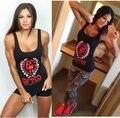 2016 Moda Mujeres Tank Tops Verano de Algodón sin mangas de Las Mujeres Camiseta superior femenina Camiseta Sin Mangas de las mujeres S-XL