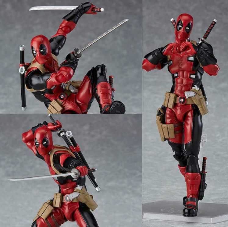 NEW hot 15 cm Deadpool Super hero X-Men action figure colecionador de brinquedos boneca de presente de Natal com caixa